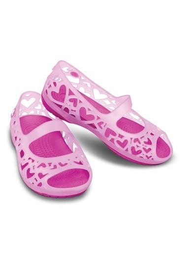 Adrina Hearts Flat C Sandalet-Crocs
